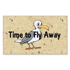 Time to Fly Away Decal
