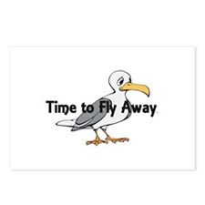 Time to Fly Away Postcards (Package of 8)