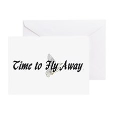 Time to Fly Away Greeting Card