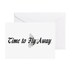 Time to Fly Away Greeting Cards (Pk of 20)