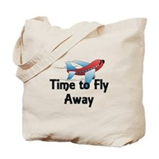 Time to Fly Away Tote Bag