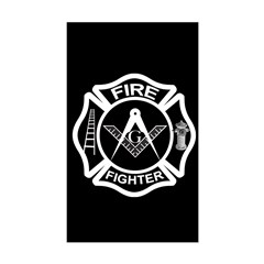 Fire Fighters Rectangle Decal