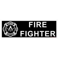 Fire Fighters Bumper Sticker (50 pk)