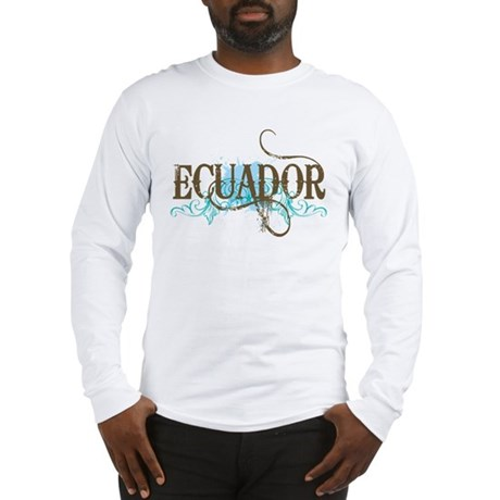 Cool Ecuador Long Sleeve T-Shirt