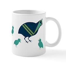 Quail Family Mug