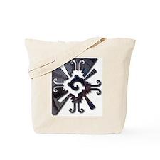 Mayan Design-metal Tote Bag