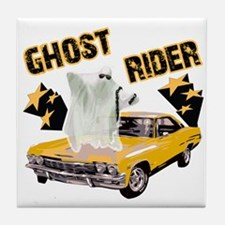 Ghost Ride The Whip Tile Coaster