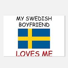 My Swiss Boyfriend Loves Me Postcards (Package of
