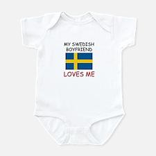 My Swiss Boyfriend Loves Me Infant Bodysuit