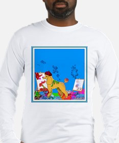 """The Poodle Artist"" Long Sleeve T-Shirt"