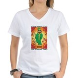 All snakes day Womens V-Neck T-shirts
