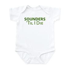 Sounders Till I Die Infant Bodysuit
