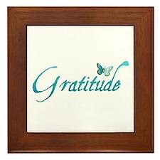 Gratitude Framed Tile