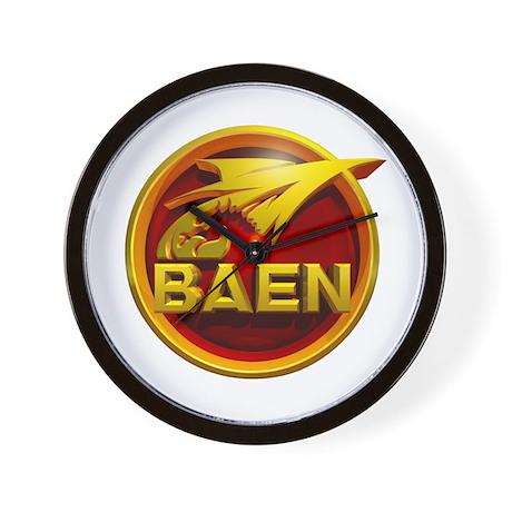 Baen logo Wall Clock