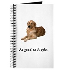 Good Golden Retriever Journal