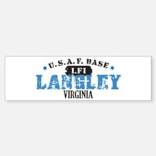 Langley Air Force Base Bumper Bumper Bumper Sticker