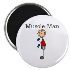 """Muscle Man 2.25"""" Magnet (100 pack)"""