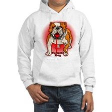 English Bulldog Vampire Dog Jumper Hoody