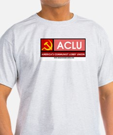 The Real ACLU Ash Grey T-Shirt