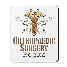 Orthopaedic Surgery Rocks Mousepad