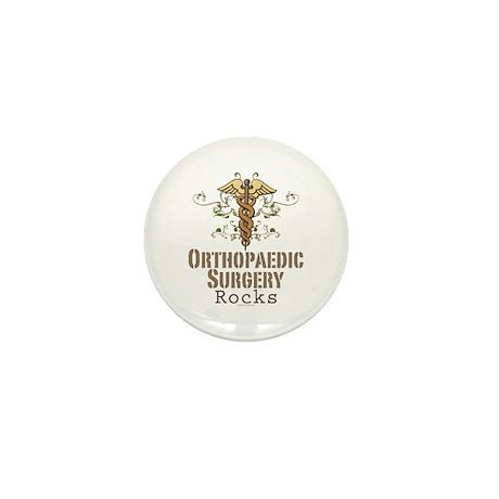 Orthopaedic Surgery Rocks Mini Button