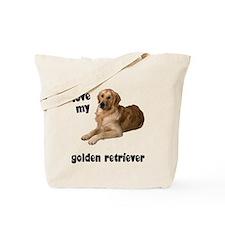 Golden Retriever Lover Tote Bag
