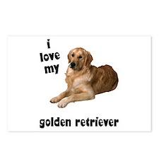Golden Retriever Lover Postcards (Package of 8)