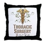 Thoracic Surgery Rocks Throw Pillow