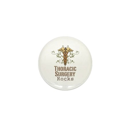 Thoracic Surgery Rocks Mini Button (10 pack)
