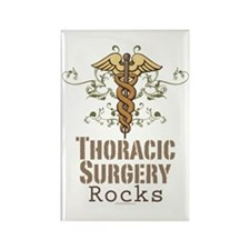 Thoracic Surgery Rocks Rectangle Magnet