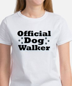 Official Dog Walker Women's T-Shirt