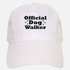 Official Dog Walker Baseball Baseball Cap