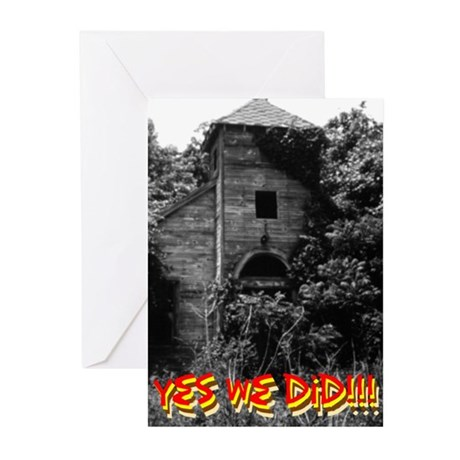 Yes We Did - Greeting Cards (Pk of 20)