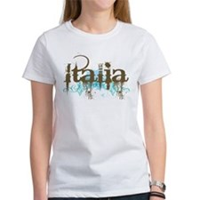 Blue Grunge Italia Tee