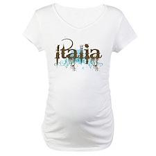 Blue Grunge Italia Shirt