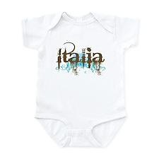 Blue Grunge Italia Infant Bodysuit