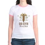 OB GYN Rocks Jr. Ringer T-Shirt