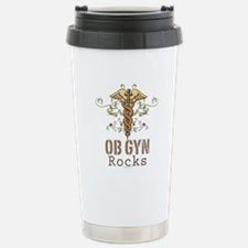 OB GYN Rocks Stainless Steel Travel Mug