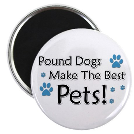 Pound Dogs Magnet