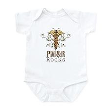 PM and R Rocks Infant Bodysuit