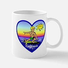 Love California Surf  Mug