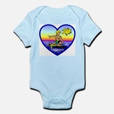 Love California Surf  Infant Creeper