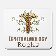 Ophthalmology Rocks Mousepad