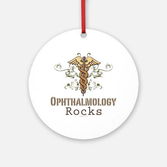 Ophthalmology Rocks Ornament (Round)