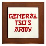 GENERAL TSO'S ARMY Framed Tile