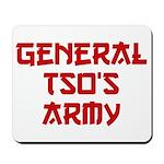 GENERAL TSO'S ARMY Mousepad