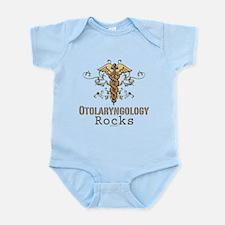 Otolaryngology Rocks Infant Bodysuit
