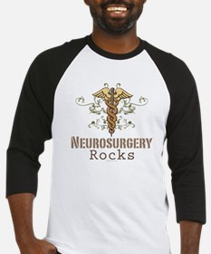 Neurosurgery Rocks Baseball Jersey