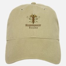 Neurosurgery Rocks Baseball Baseball Cap