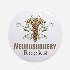 Neurosurgery Rocks Ornament (Round)